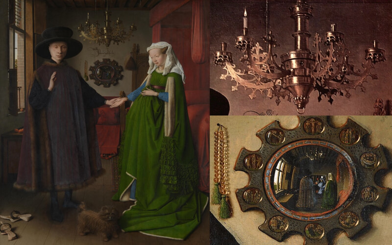 Painting by Jan van Eyck