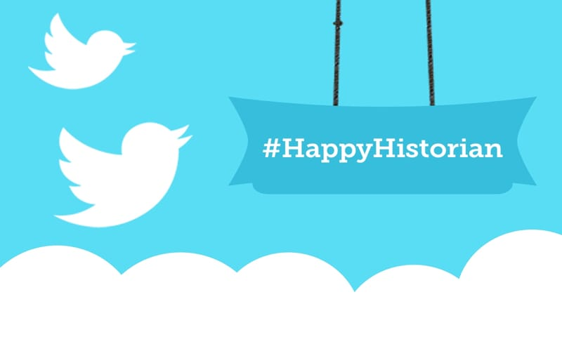 Twitter history hashtags